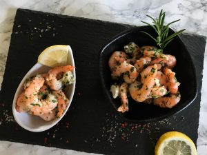 Shrimps in Knoblauchmarinade